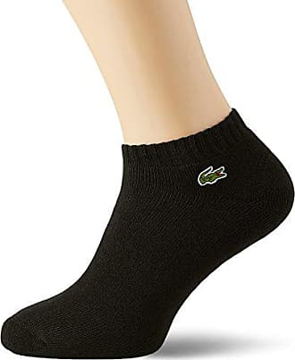 679fce0658 Lacoste RA6315 Chaussettes, (Noir/Blanc), 40 (Taille Fabricant: 4