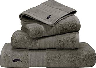 Ralph Lauren Home Player Towel - Pebble - Bath Towel