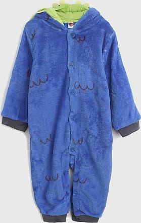 Tip Top Pijama Tip Top Longo Infantil Pelúcia Azul