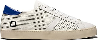 D.A.T.E. hill low pop perforated white