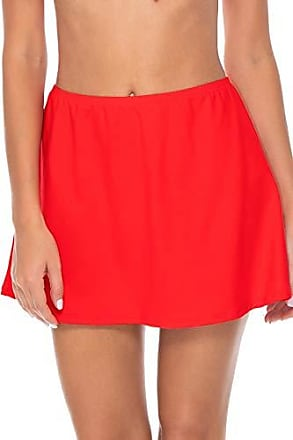 Sunsets Womens Del Mar Cover Up Skirt, Scarlet, X-Large