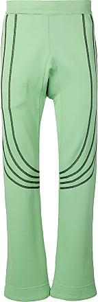 Kiko Kostadinov stripe track pants - Green