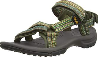 Teva Terra Fi Lite, Womens Open Toe Sandals, Green (Burnt Olive Btol), 3 UK (36 EU)
