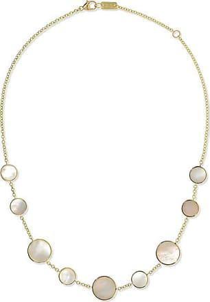 Ippolita Polished Rock Candy 18-karat Gold Mother-of-pearl Necklace