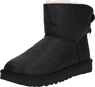 82aec24778 UGG Boots Mini Bailey Bow Sparkle schwarz