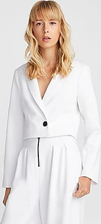 Icone Accent button cropped twill jacket