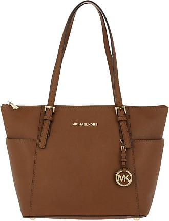Michael Kors Shopping Bags - Jet Set Item Tote Bag Luggage - brown - Shopping Bags for ladies