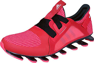 adidas Originals Springblade Womens Synthetic Material Trainers Red/Black - 5 UK