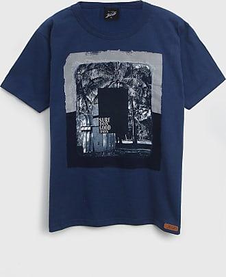 Elian Camiseta Elian Infantil Estampada Azul