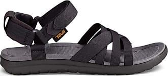 Teva Womens Sanborn Sandal, Sports and Outdoor Lifestyle Sandal, Black, 6 UK (39 EU)