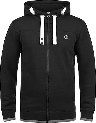 Solid Benjamin Zip Mens Sweater Zip Jacket, size:M;colour:Black (9000)