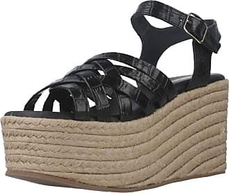 Yellow Women Sandals and Slippers Women Uptown Black 5.5 UK