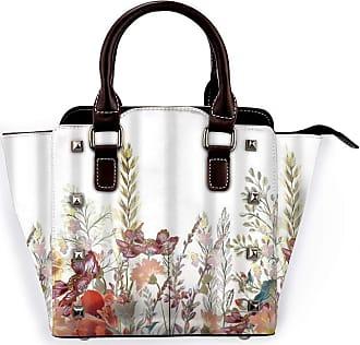 Browncin Pastoral Flowers Idyllic Nameless Simple Flowers Detachable Fashion Trend Ladies Handbag Shoulder Bag Messenger Bags