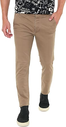 Jack & Jones Calça Sarja Jack & Jones Chino Marco Bege