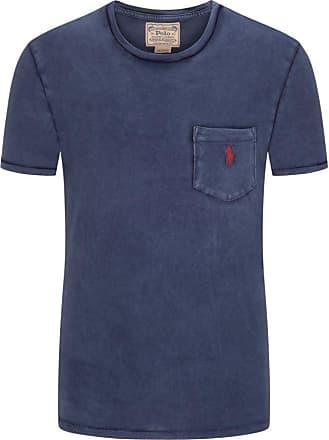 Polo Ralph Lauren T-Shirt mit praktischer Brusttasche, Custom Slim Fit von Polo Ralph Lauren in Marine für Herren