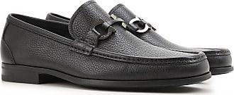 Salvatore Ferragamo Loafers for Men On Sale, Black, Leather, 2017, 6 6.5 7 8.5