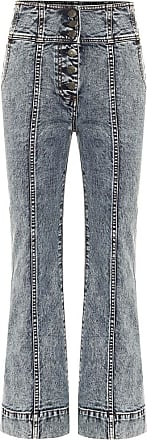 Ulla Johnson High-Rise Bootcut Jeans Ellis