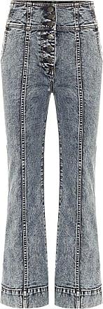 Ulla Johnson Ellis high-rise cropped bootcut jeans