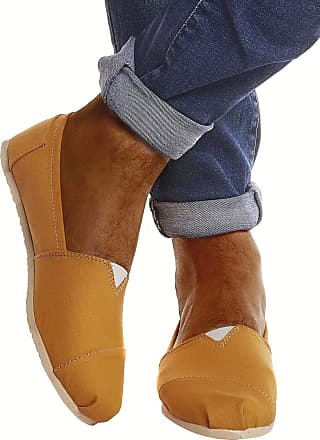 LEIF NELSON Men Shoes Espadrilles LN-101 Yellow 42 EU