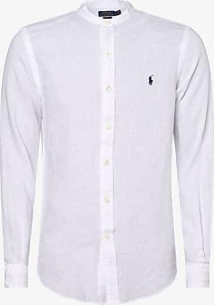 Polo Ralph Lauren Herren Leinenhemd - Slim Fit weiss