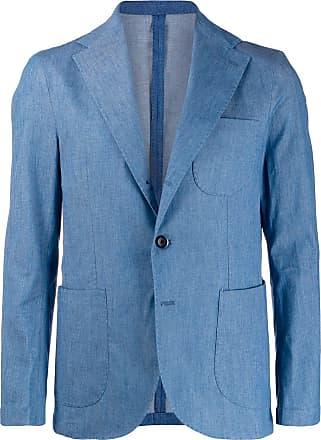 Entre Amis chambray blazer - Azul