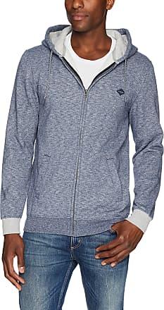 Rip Curl Mens Destination Fleece Jacket, Navy/Navy, XL