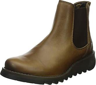 d90ec6df8faacb FLY London Womens Salv Ankle Bootie, Camel Rug, 41 EU/10-10.5