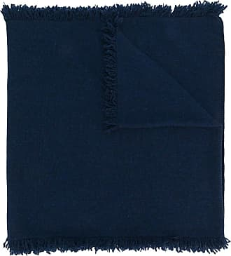 Pringle Of Scotland Echarpe de cashmere com franjas - Azul
