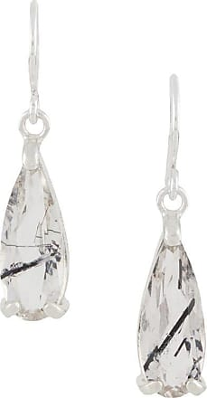 Wouters & Hendrix tourmaline quartz hook earrings - SILVER