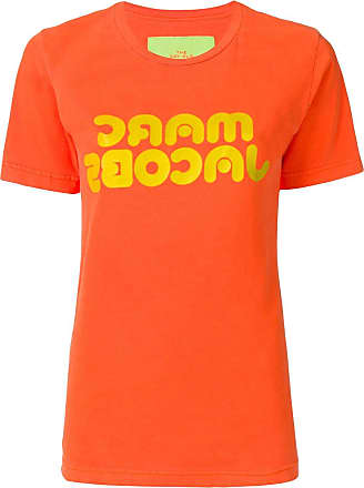 Marc Jacobs logo print T-shirt - Laranja