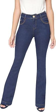 Dimy Calça Jeans dimy Flare Camili Azul