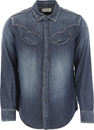 9685e565 Saint Laurent® Denim Shirts − Sale: up to −50%   Stylight