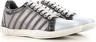0fd1a5eae58 Frankie Morello Sneakers for Women On Sale in Outlet, Silver, Leather, 2017,