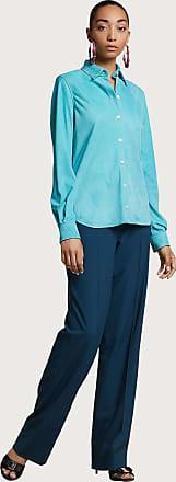 Salvatore Ferragamo Women Nappa shirt Turquoise
