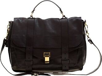 Proenza Schouler Brown Leather Large Ps1 Top Handle Bag 18256cc6eb92b