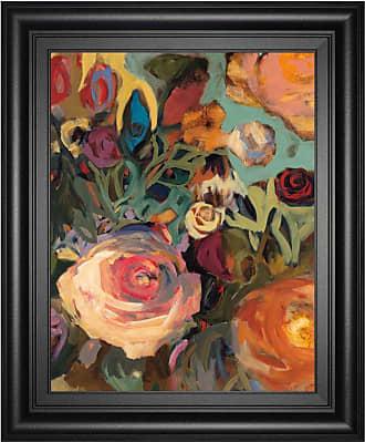 Classy Art Rose Garden II Framed Wall Art - 8371