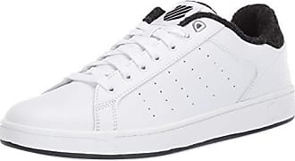 K-Swiss Mens Clean Court CMF Sneaker White/Caviar 8 M US