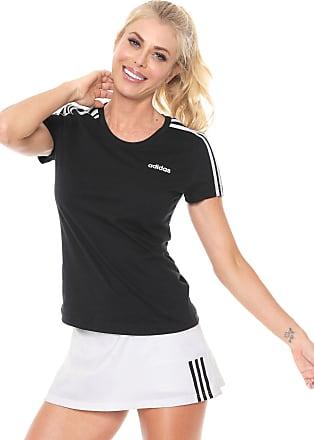 adidas Performance Camiseta adidas Performance W E 3s Slim Preto