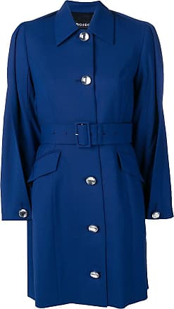 Y / Project folded detail trench coat - Blue