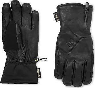 Burton Guide Leather, Gore-tex And Stretch-jersey Gloves - Black