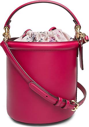 Coach Refined Calf Leather Drawstring Bucket Bag Bags Bucket Bag Rosa Coach