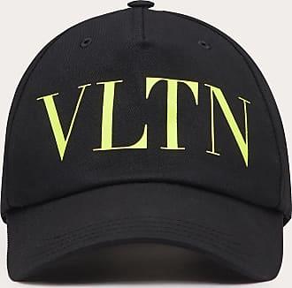 Valentino Garavani Valentino Garavani Uomo Cappello Baseball Vltn In Cotone Uomo Nero/giallo Fluo Cotone 100% 58