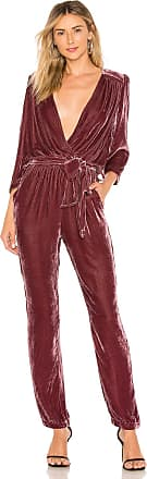 Young Fabulous & Broke Bellows Jumpsuit in Purple