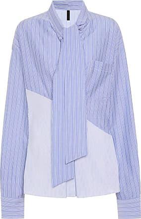 Unravel Striped cotton blouse