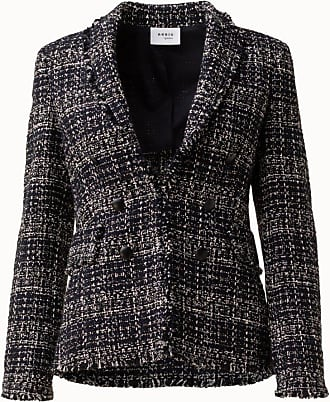 Akris Double Breasted Tweed Blazer