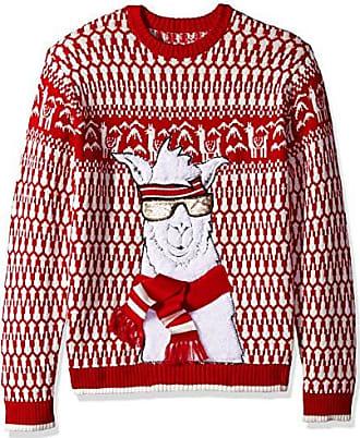 590943636c4a97 Blizzard Bay Mens Ski Slopes Llama Ugly Christmas Sweater