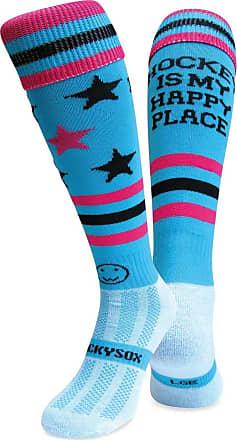 Wackysox Hockey Is My Happy Place Knee Length Socks