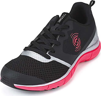 Zumba STRONG by Zumba Fly Fit Athletic Workout Sneakers Cross Trainer Shoes for Women, Black/Silver, 2.5