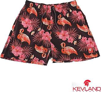 Kevland Underwear Short Kevland Flamingos Tamanho:GG;Cor:Rosa