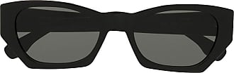 Retro Superfuture geometric frame sunglasses - Black